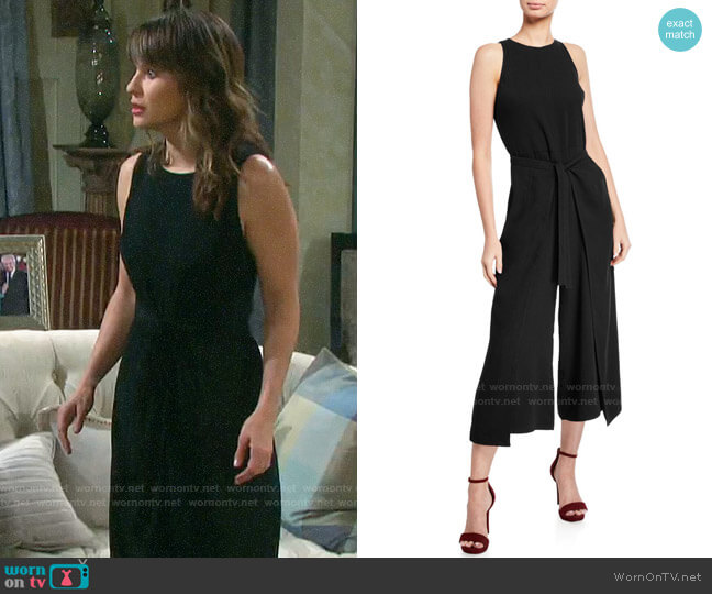 Joie Mairead Jumpsuit worn by Sarah Horton (Linsey Godfrey) on Days of our Lives