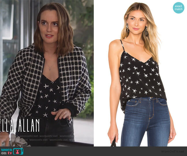 Jane Spaghetti Strap Top by L'Agence worn by Angie (Leighton Meester) on Single Parents