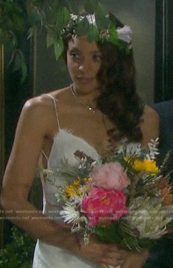 Lani's wedding dress on Days of our Lives