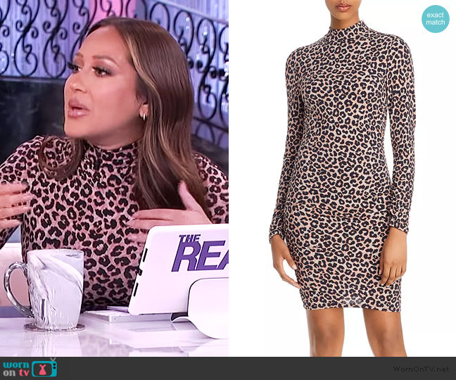 Bali Leopard-Print Sheath Dress by Likely worn by Adrienne Houghton  on The Real
