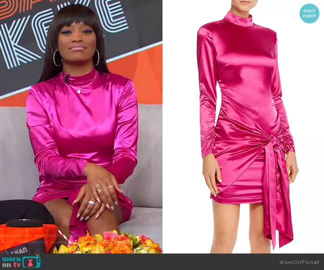 Khaleesi Mini Dress by Likely worn by Keke Palmer  on Good Morning America