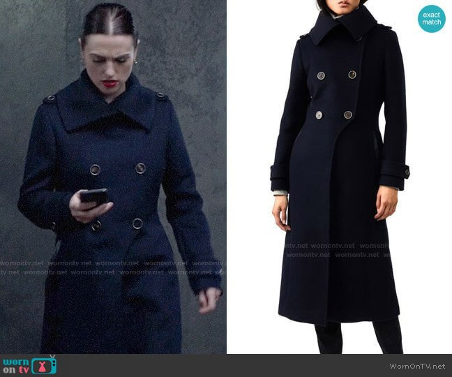 Mackage Elodie Coat worn by Lena Luthor (Katie McGrath) on Supergirl