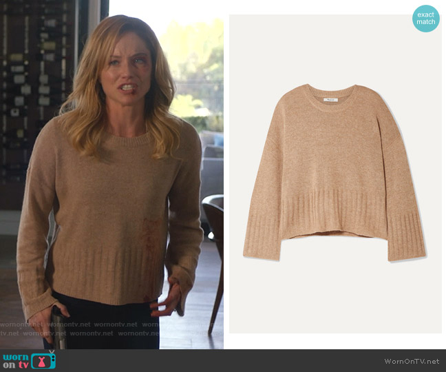 Ayres Wide Sleeve Pullover Sweater by Madewell worn by Ellen Hollman on 9-1-1