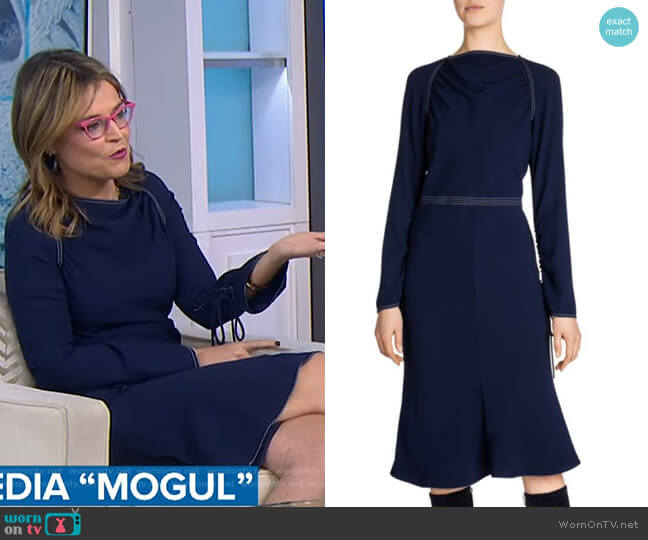 Envers Flared Dress by Marni worn by Savannah Guthrie  on Today