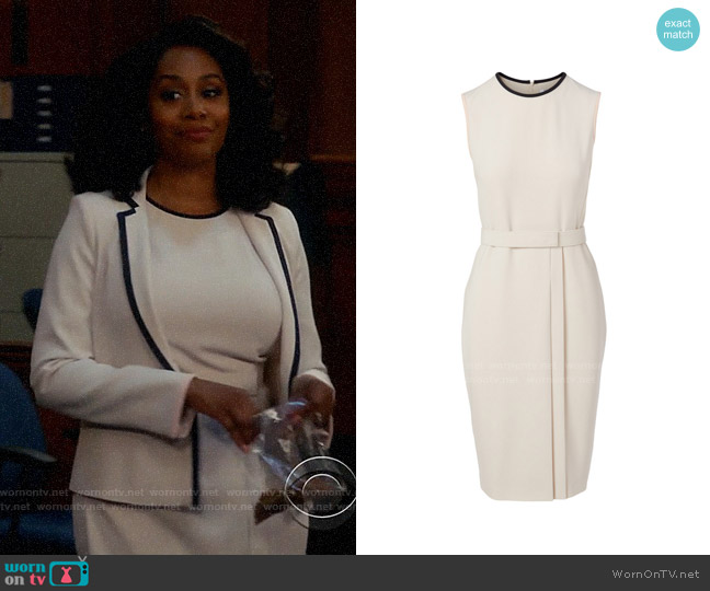 Max Mara Farad Dress worn by Lola Carmichael (Simone Missick) on All Rise