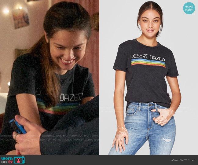 Target Mighty Fine Desert Dazed Graphic T-Shirt worn by Nini (Olivia Rodrigo) on High School Musical The Musical The Series