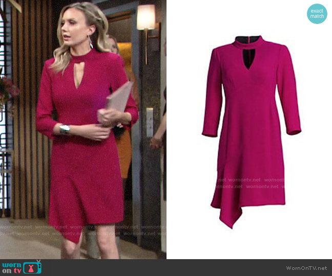 Nanette Lepore Heartthrob Dress worn by Abby Newman (Melissa Ordway) on The Young & the Restless