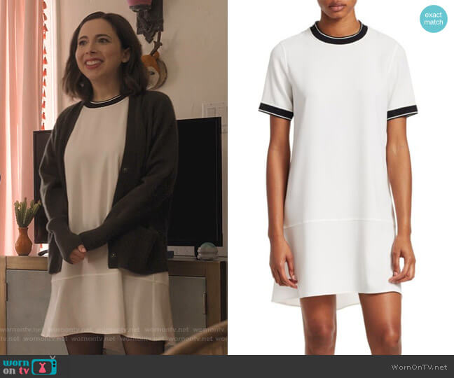 Thatch T-Shirt Dress by Rag & Bone worn by Izzy Levine (Esther Povitsky) on Dollface
