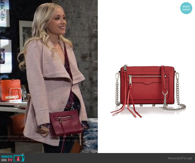 Rebecca Minkoff Avery Crossbody Bag worn by Lulu Spencer Falconeri (Emme Rylan) on General Hospital