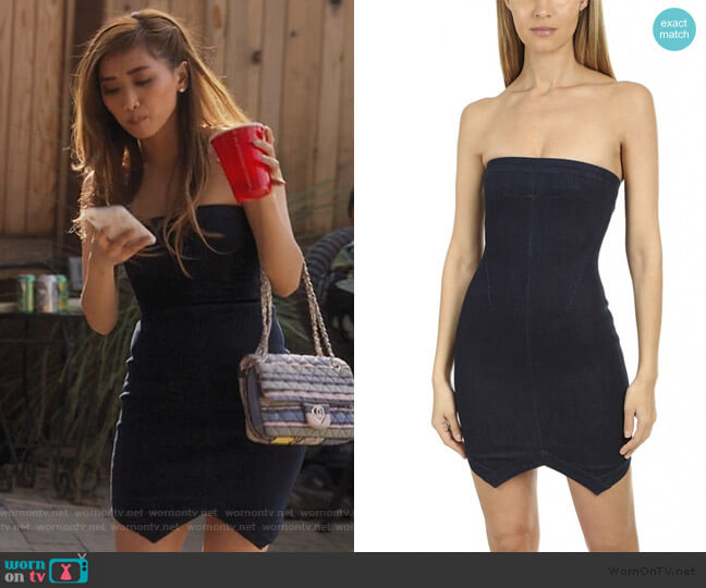 Wydle Dress by RTA worn by Madison Maxwell (Brenda Song) on Dollface
