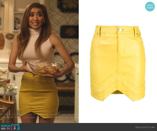 Fitted Mini Skirt by Rta worn by Madison Maxwell (Brenda Song) on Dollface