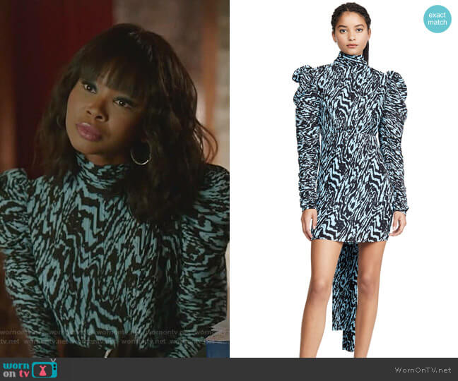 Marne Mini Dress by Solace London worn by Monica Colby (Wakeema Hollis) on Dynasty