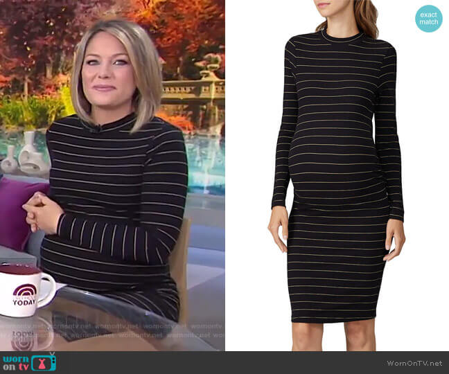 Casima Dress by Soon Maternity worn by Dylan Dreyer  on Today