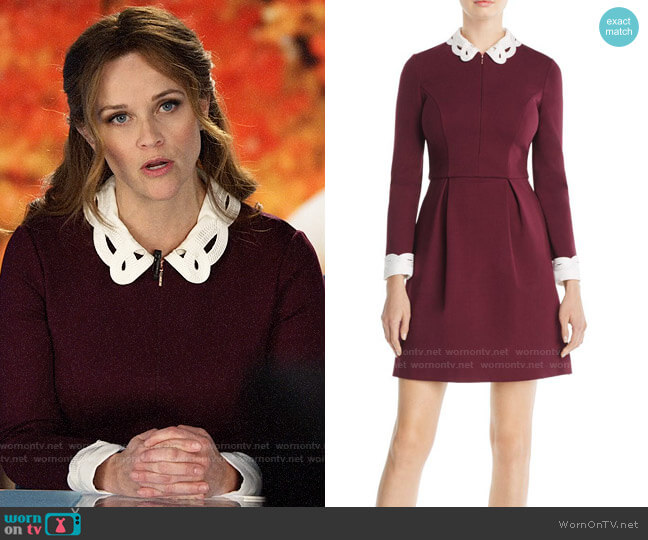 Ted Baker Shealah Dress worn by Bradley Jackson (Reese Witherspoon) on The Morning Show