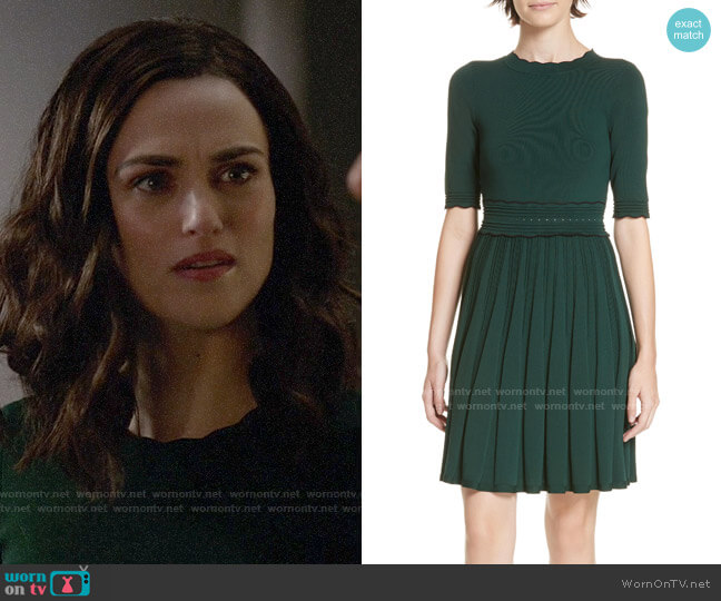 Ted Baker Dorlean Dress worn by Lena Luthor (Katie McGrath) on Supergirl