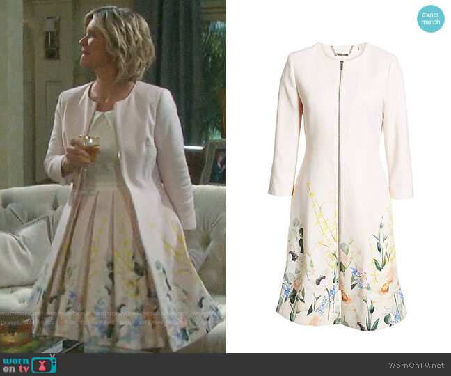 Ted Baker Luluuu Coat worn by Kayla Brady (Mary Beth Evans) on Days of our Lives