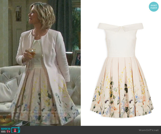 Ted Baker Oceanne Dress worn by Kayla Brady (Mary Beth Evans) on Days of our Lives