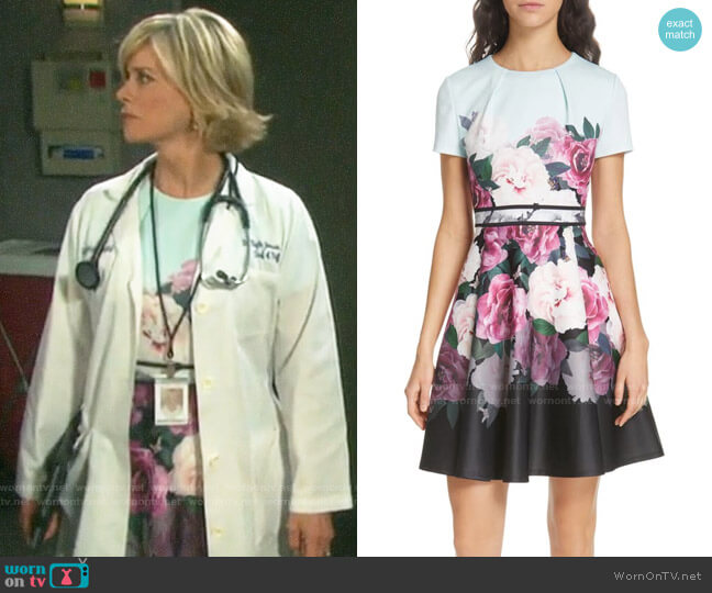 Ted Baker Wilmana Dress worn by Kayla Brady (Mary Beth Evans) on Days of our Lives