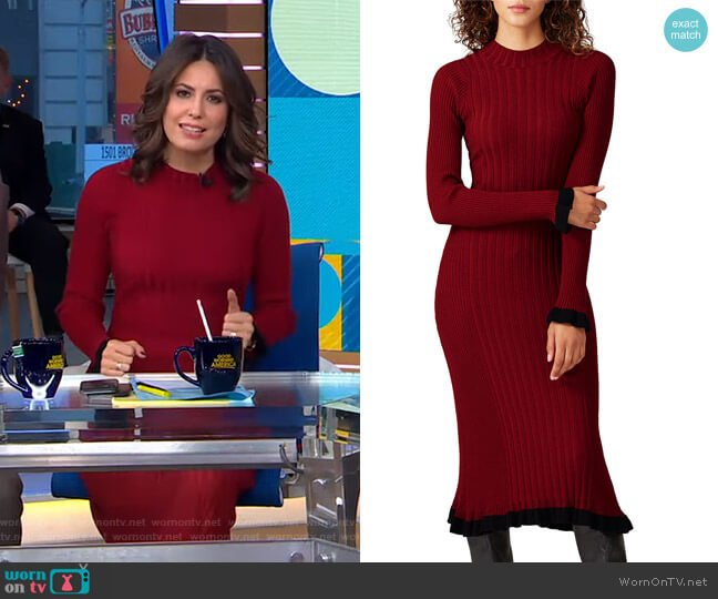 Figgy Dress by Veda worn by Cecilia Vega  on Good Morning America
