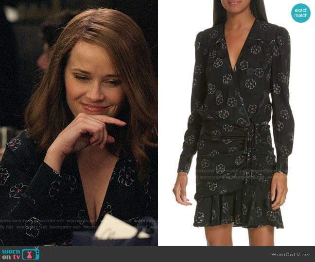 Veronica Beard Anders Dress worn by Bradley Jackson (Reese Witherspoon) on The Morning Show