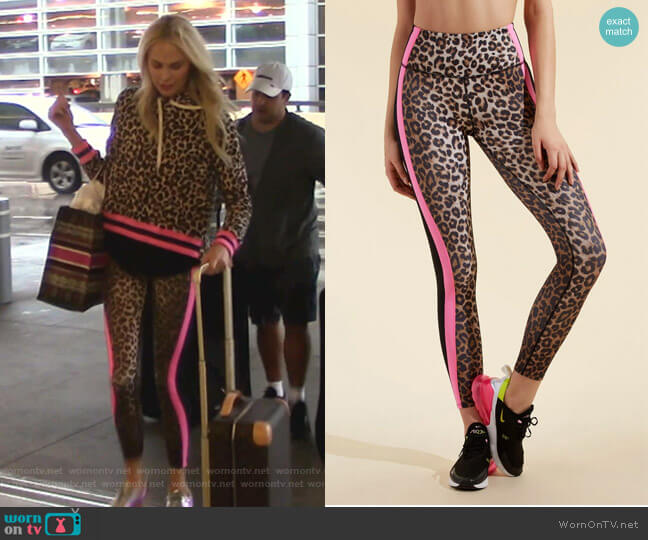 Ronda Leggings by Veronica Beard x Bandier worn by Kameron Westcott  on The Real Housewives of Dallas