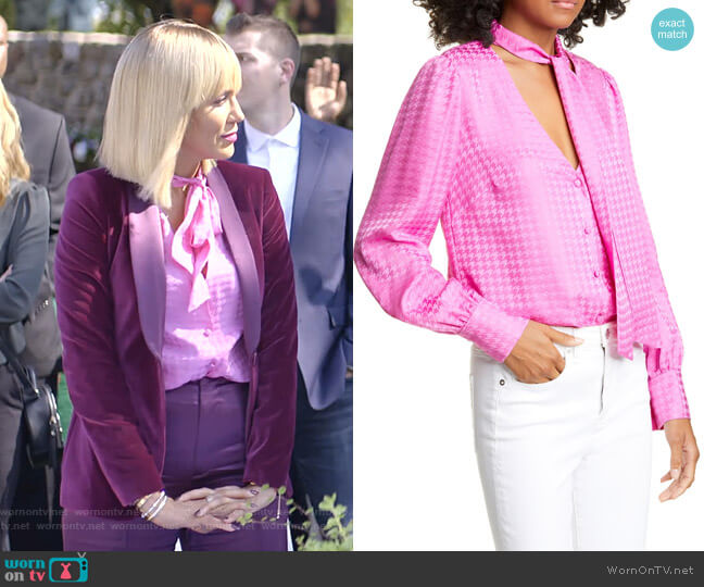 Nicky Top by Veronica Beard worn by Giselle (Nicole Ari Parker) on Empire