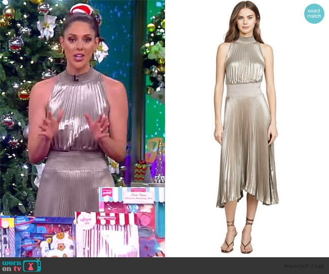 Renzo Dress by A.L.C. worn by Abby Huntsman  on The View