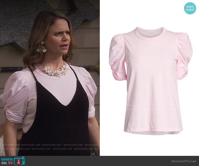 Kati Top by A.L.C. worn by Kimmy Gibbler (Andrea Barber) on Fuller House