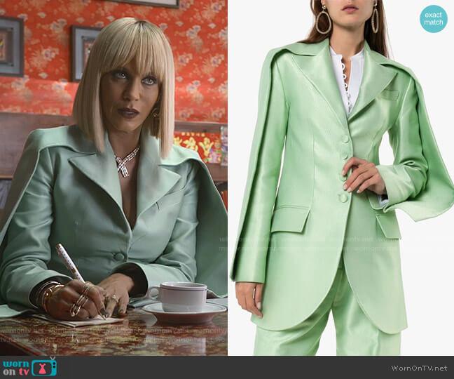 Double Sleeve Tailored Blazer by Aleksandre Akhalkatsishvili  worn by Giselle (Nicole Ari Parker) on Empire