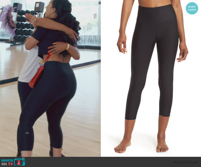Airlift High Waist Capris by Alo worn by Tanya Sam on The Real Housewives of Atlanta
