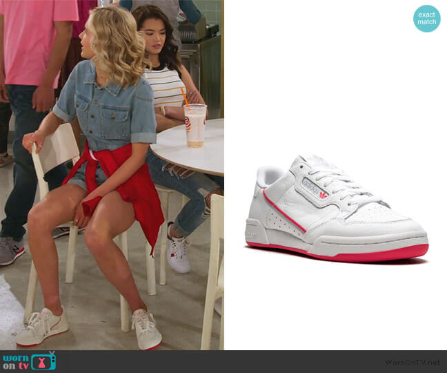 Continental 80 sneakers by Adidas worn by Katie Cooper (Isabel May) on Alexa & Katie