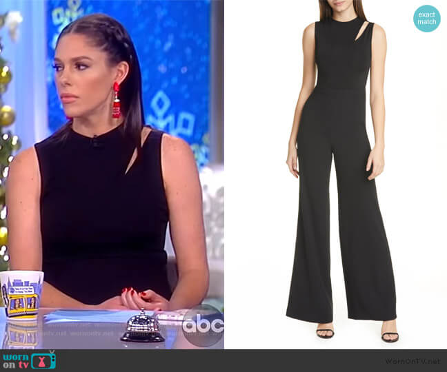 Ivy Cutout Jumpsuit by Alice + Olivia worn by Abby Huntsman  on The View