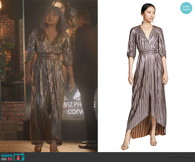Pacey Dress by Bash worn by Gert Yorkes (Ariela Barer) on Marvels Runaways