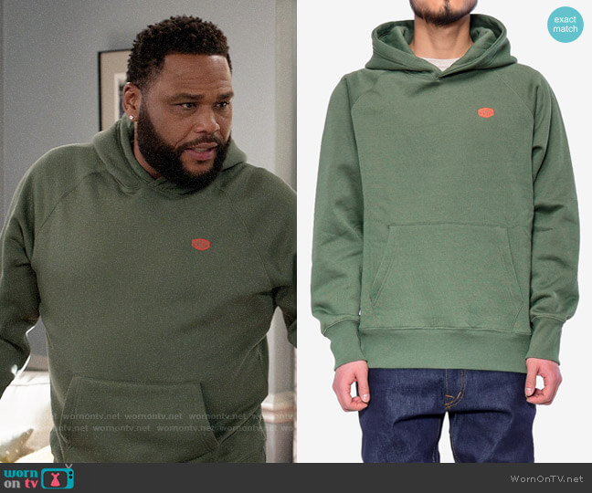 Deus Ex Machina Mike Shield Hoodie worn by Andre Johnson (Anthony Anderson) on Blackish