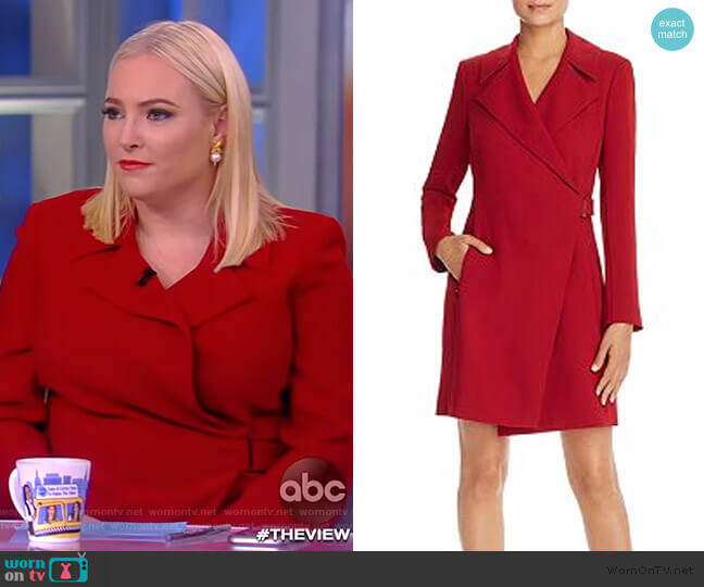 Charlotte Wrap Dress Elie Tahari worn by Meghan McCain  on The View