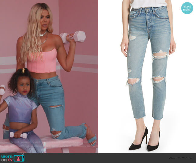 Karolina by GRLFRND worn by Khloe Kardashian  on Keeping Up with the Kardashians