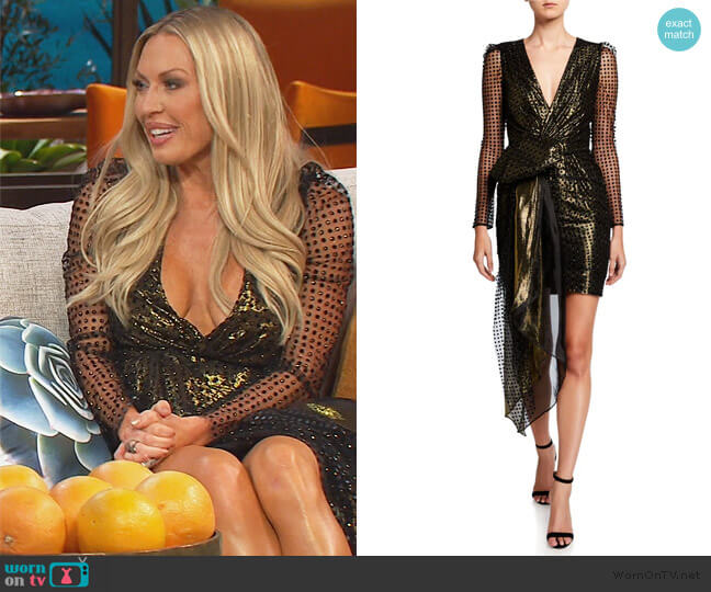 Simone Dress by Haney worn by Braunwyn Windham-Burke  on The Real Housewives of Orange County