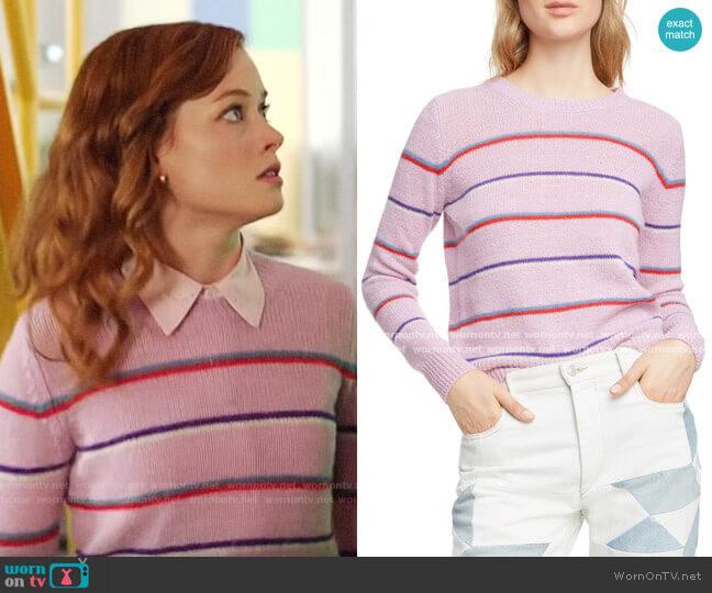 Isabel Marant Eoile Gian Sweater worn by Zoey Clarke (Jane Levy) on Zoeys Extraordinary Playlist