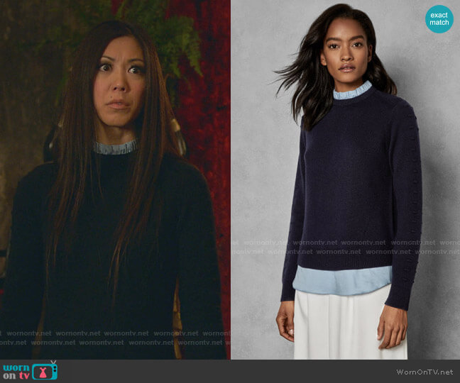 Lissiah Sweater by Ted Baker worn by Tina Minoru (Brittany Ishibashi) on Marvels Runaways