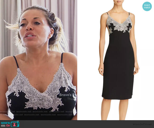 Luxe Shangri-La Chemise by Natori worn by Dolores Catania  on The Real Housewives of New Jersey