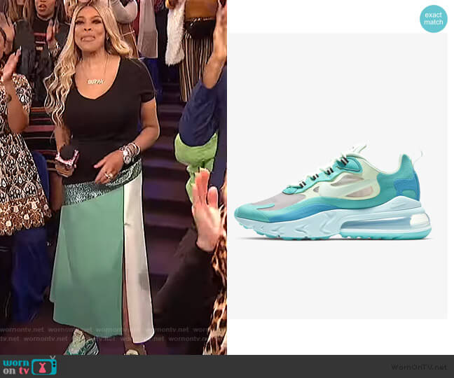 Air Max 270 by Nike worn by Wendy Williams  on The Wendy Williams Show