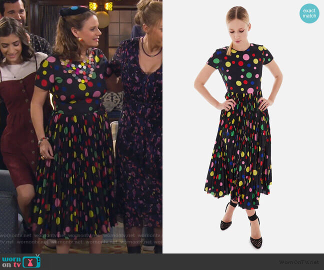The Juniper Dress by Novis worn by Kimmy Gibbler (Andrea Barber) on Fuller House