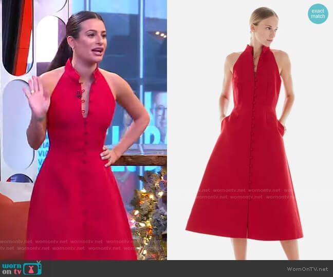 Lake Dress by Novis worn by Lea Michele on GMA