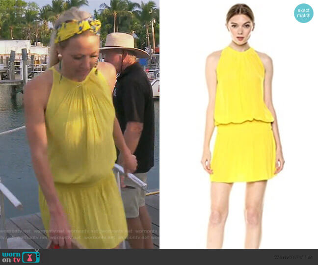 Paris Dress by Ramy Brook worn by Braunwyn Windham-Burke  on The Real Housewives of Orange County
