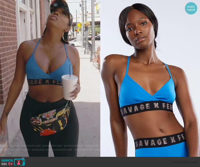Savage X Bralette by Savage x Fenty worn by Porsha Williams  on The Real Housewives of Atlanta