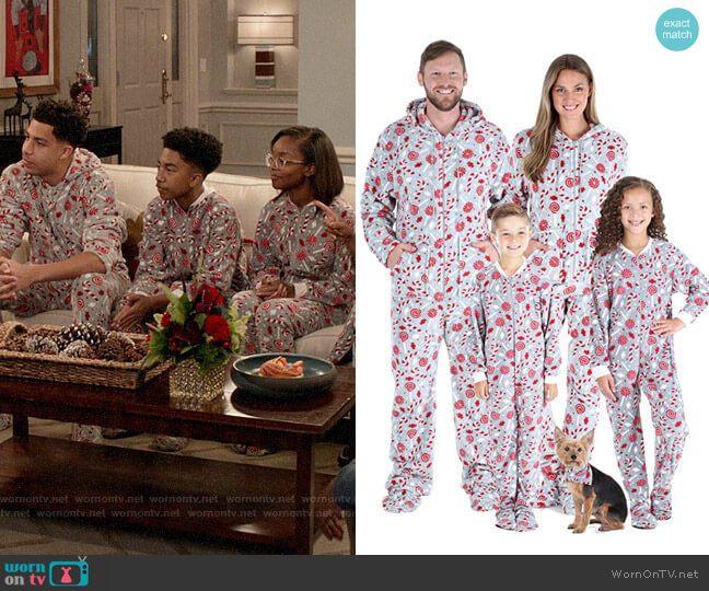 SleepytimePJs Matching Family Christmas Pajama Sets