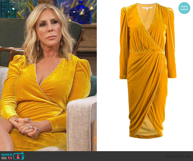 Anthea Dress by Veronica Beard worn by Vicki Gunvalson  on The Real Housewives of Orange County