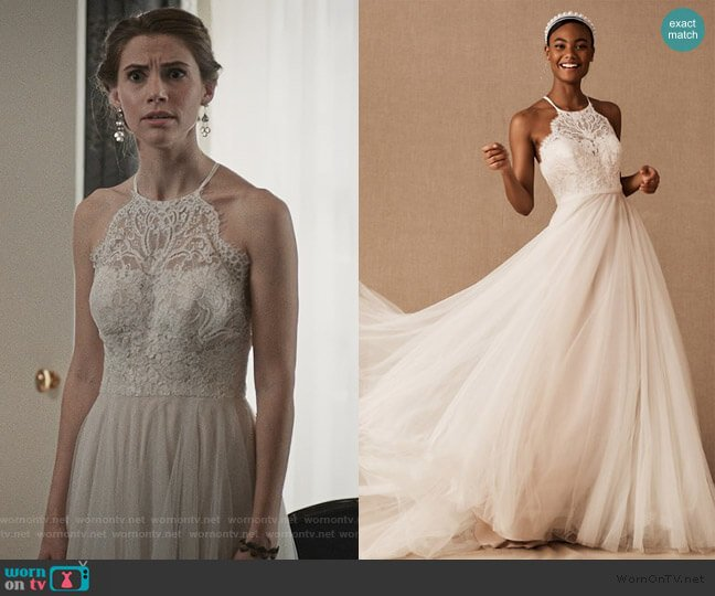 Claremore Gown by Wtoo by Watters worn by Stephanie 'Stevie' McCord (Wallis Currie-Wood) on Madam Secretary
