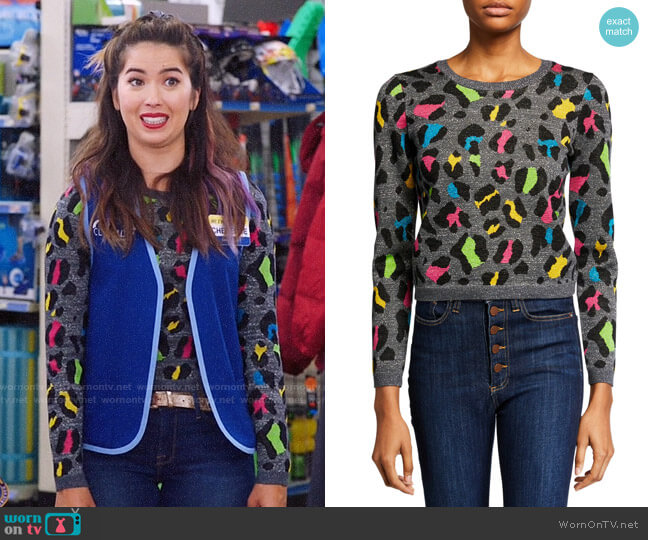 Alice + Olivia Rhodes Top worn by Cheyenne (Nichole Bloom) on Superstore