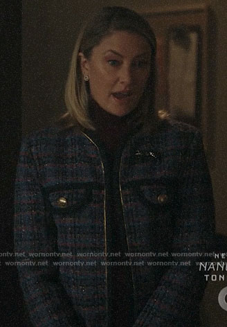 Alice's tweed jacket on Riverdale